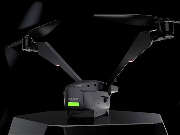 The V-Coptr Falcon is a bi-copter drone that has a 50-minute battery life: Digital Photography Review