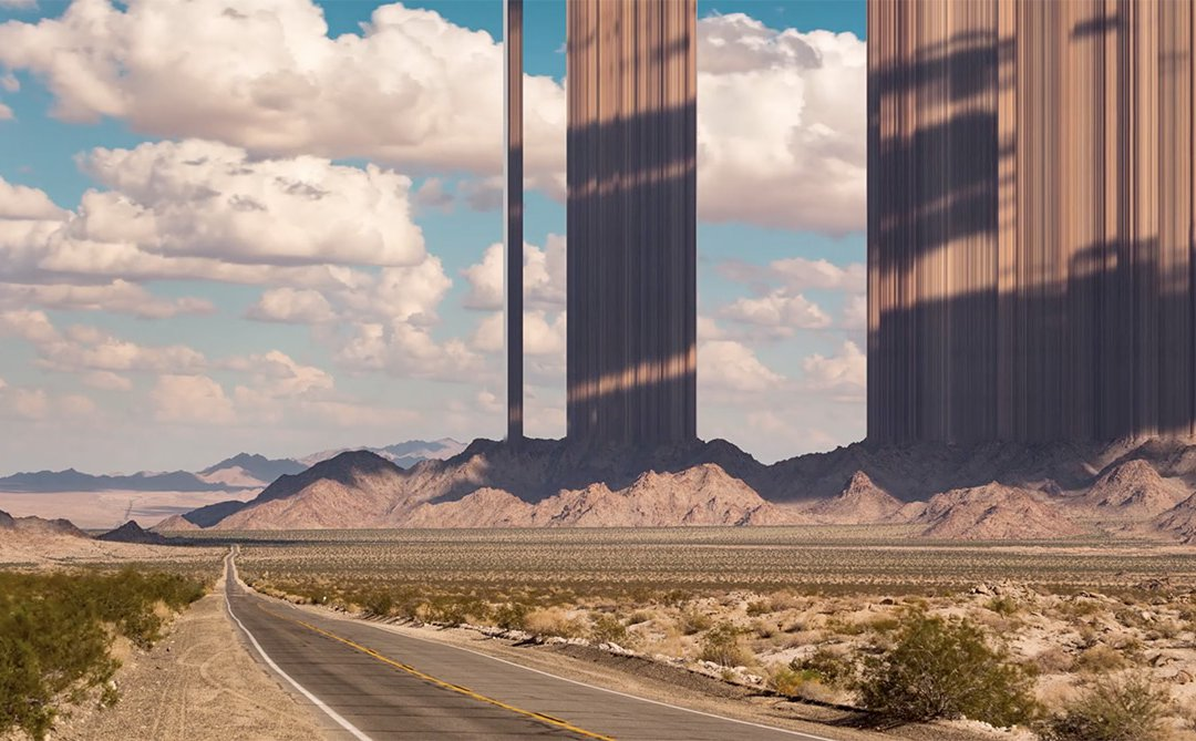 Mesas Shoot Through Cloud-Filled Skies in 'American Totem' | Colossal