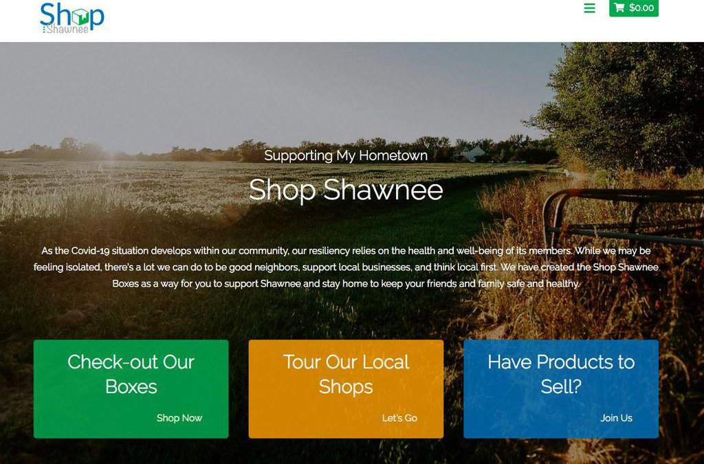 Community support: Site started to encourage Shawnee shopping